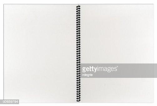 Blank Spiral Notebook