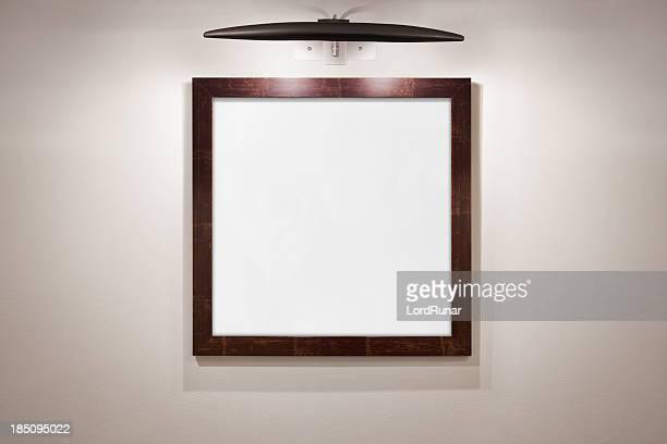 Monture carrée blanc