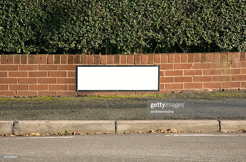 Blank Street Sign-Click for related images