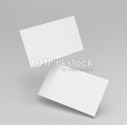 Blank white 3d visiting card and business card template 3d render blank white 3d visiting card and business card template 3d render illustration for mock up and fbccfo Choice Image