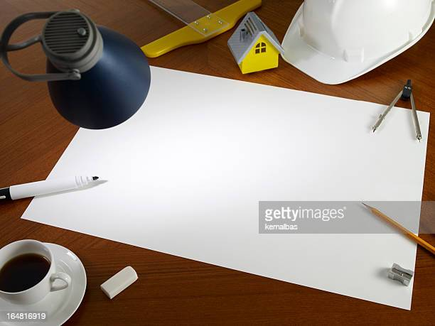 Blank White Empty Paper