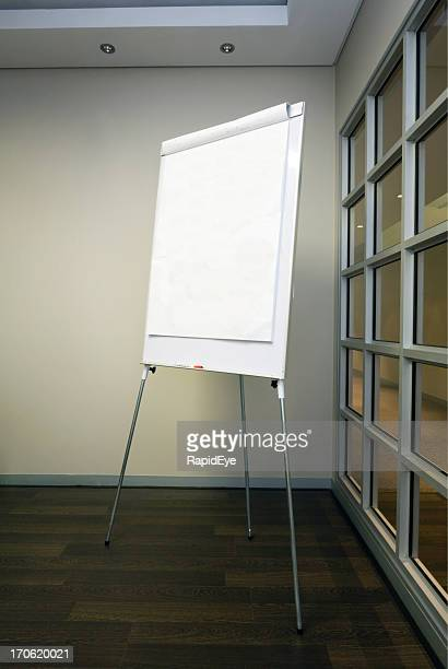 Vide Tableau blanc/tableau à feuilles
