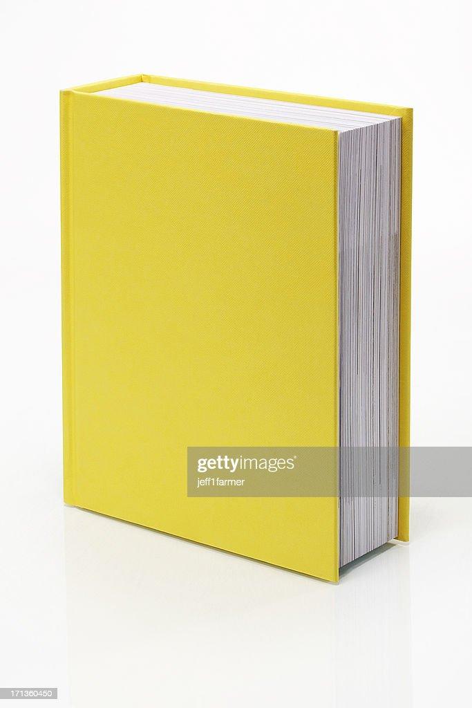 Blank Yellow Book