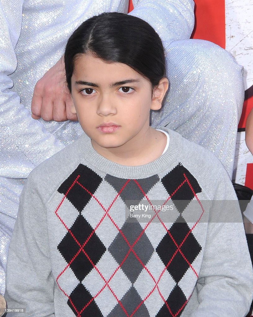 Blanket Jackson attends the Michael Jackson 'Immortalized' hand and footprint ceremony held at Grauman's Chinese Theatre on January 26, 2012 in Hollywood, California.