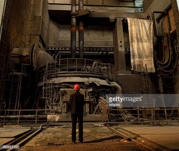 Gunpowder Blast Furnace : Metallurgy stock photos and pictures getty images