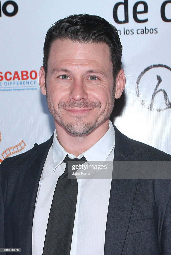 Blayne Weaver arrives to the Closing Night Gala for the Baja International Film Festival at Los Cabos Convention Center on November 17, 2012 in Cabo San Lucas, Mexico.