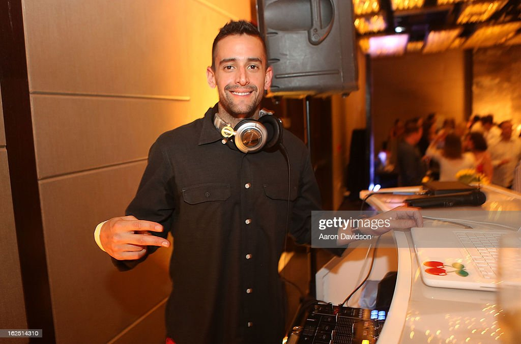 DJ Blaze attends Chicken Coupe Dinner at W South Beach Hotel & Residences on February 23, 2013 in Miami Beach, Florida.