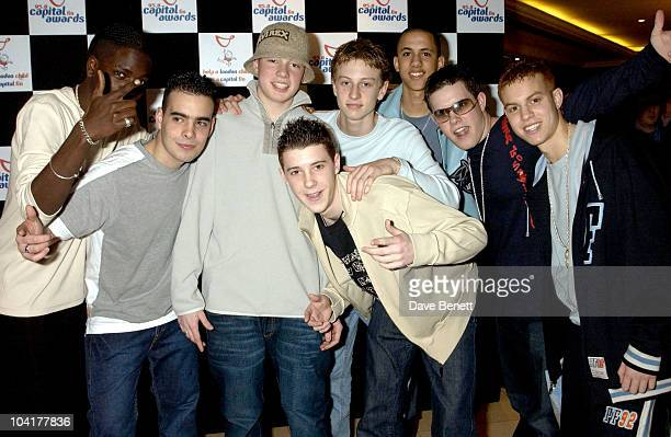 Blazin Squad Capital Radio Awards At The Royal Lancaster Hotel London