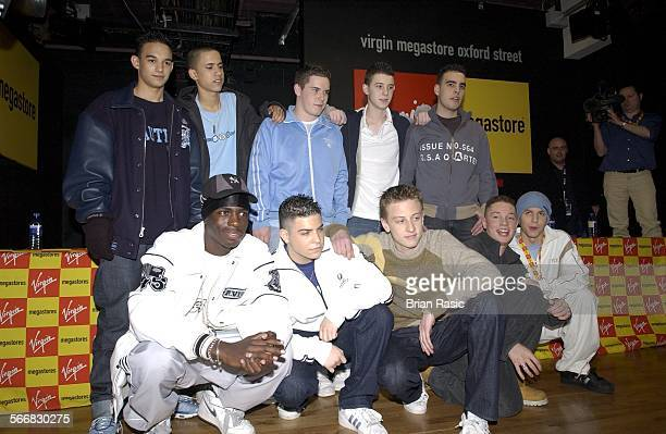 Blazin' Squad Signing At Virgin Megastore London Britain 11 Feb 2003 Blazin' Squad