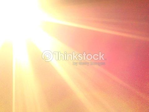 Blazing Glory of the Sun : Foto de stock
