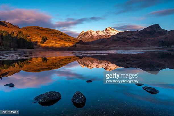 Blea Tarn reflections, Lake District