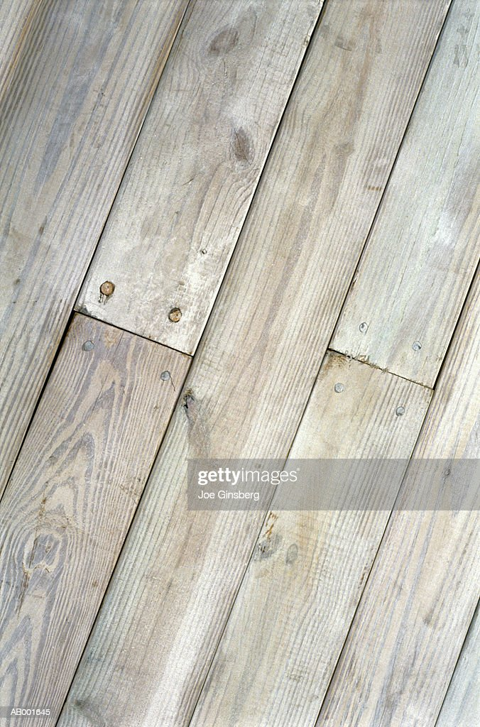 Bleached Planks : Stock Photo