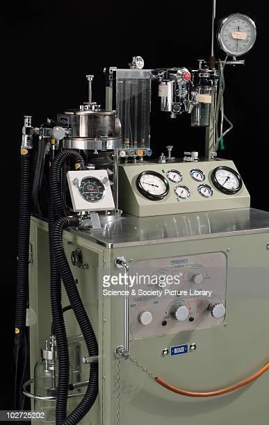 Blease pulmoflater by Blease Medical Equipment Ltd 197383 Blease pulmoflater anaesthetic ventialetion with flowmeter fluotec vaporizer Boyle's bottle...