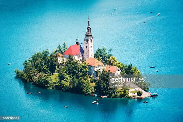 Bled Island im Sommer