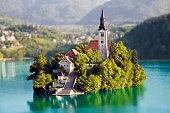 Island Bled, Slovenia