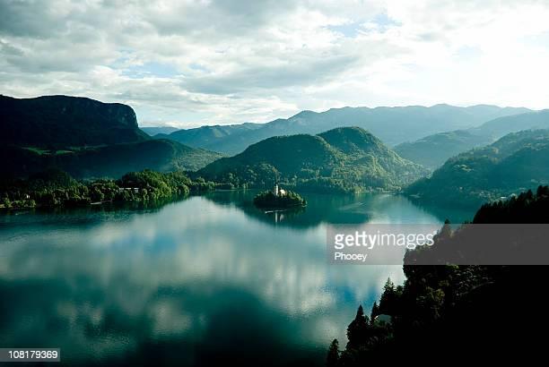 Lago di Bled verde
