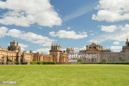 Blenheim Palace in Summer
