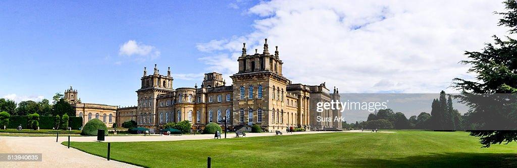 Blenheim Palace Oxfordshire England UK taken on 8/13/2014