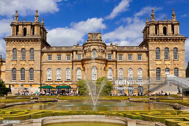 Blenheim Palace, Woodstock, Oxfordshire, England, United Kingdom.