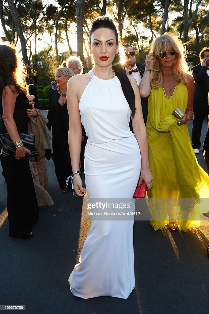 Bleona attends amfAR's 20th Annual Cinema Against AIDS during The 66th Annual Cannes Film Festival at Hotel du Cap-Eden-Roc on May 23, 2013 in Cap d'Antibes, France.