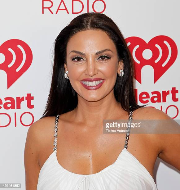 Bleona attends the iHeartRadio fiesta Latina music festival at The Forum on November 22 2014 in Inglewood California