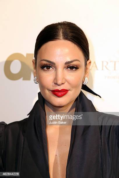 Bleona attends the OK 2015 Pre GRAMMY Party at Lure on February 5 2015 in Hollywood California