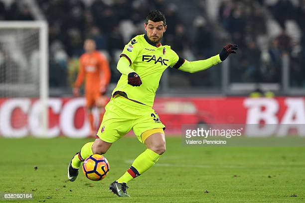 Blerim Dzemaili of Bologna FC in action during the Serie A match between Juventus FC and Bologna FC at Juventus Stadium on January 8 2017 in Turin...