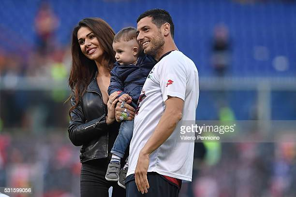 Blerim Dzemaili of Genoa CFC looks on at the end of the Serie A match between Genoa CFC and Atalanta BC at Stadio Luigi Ferraris on May 15 2016 in...