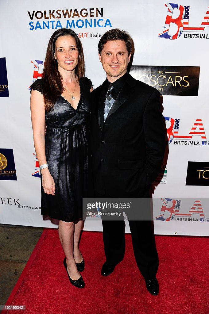 Blerime Topalli (L) and Max Bartoli attend the 6th Annual Toscar Awards at the Egyptian Theatre on February 19, 2013 in Hollywood, California.