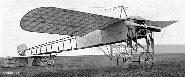 Bleriot monoplane used by the British army 1914 This aircraft was essentially the same as the one in which Louis Bleriot made the first successful...