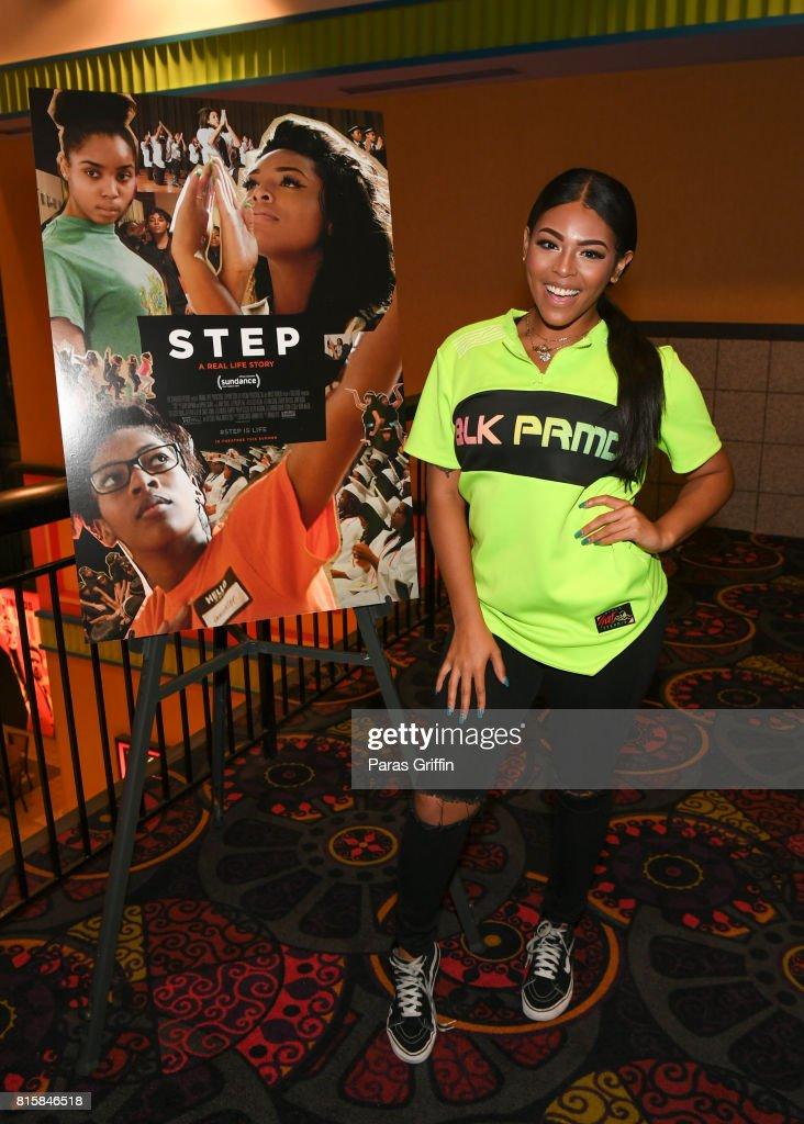 Blessin Giraldo at 'Step' documentary Atlanta screening at Regal Cinemas Atlantic Station Stadium 16 on July 16, 2017 in Atlanta, Georgia.