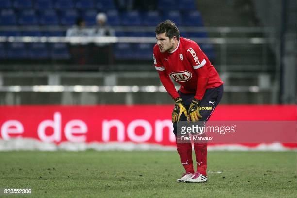 Blessure Cedric CARRASSO Sochaux / Bordeaux 18eme journee de Ligue 1