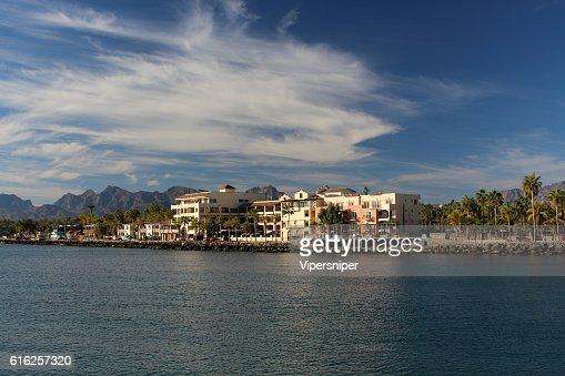 Blick auf Küste von Loreto : Stock Photo