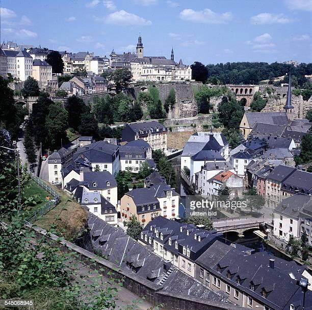 Blick über die Vorstadt 'Grund' 1998