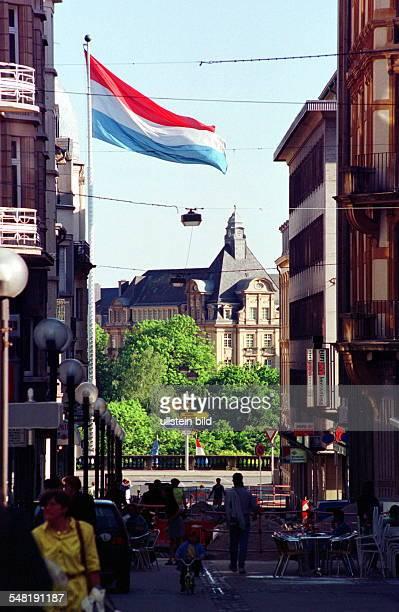 Blick in die Altstadt 1999