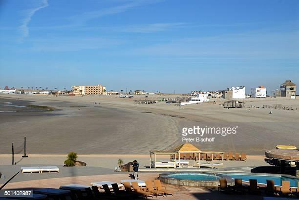 Blick vom Hotel 'Penasco Del Sol' auf Strand Puerto Penasco Sonora Mexico Mittelamerika Reise BB DIG PNr 181/2011