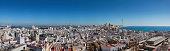 Blick vom Torre Tavira auf die Altstadt Richtung Südosten