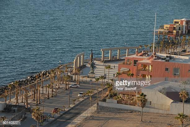 Blick von Terrasse vom Restaurant 'La Casa del Capitan' auf Promenade Puerto Penasco Sonora Mexico Mittelamerika Reise BB DIG PNr 181/2011