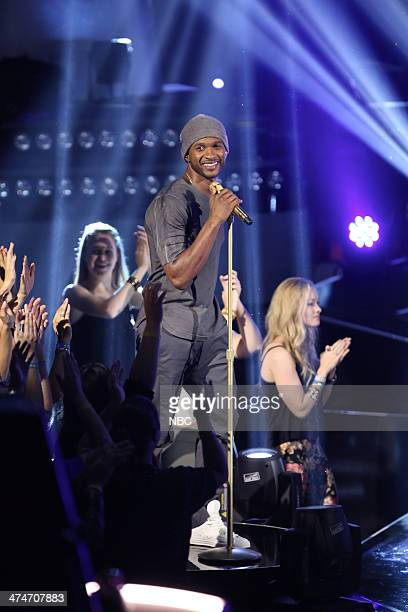 THE VOICE 'Blind Auditions' Episode 601 Pictured Usher