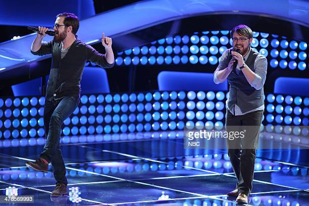 THE VOICE 'Blind Auditions' Episode 603 Pictured Coty Walker and Clinton Walker of Brothers Walker