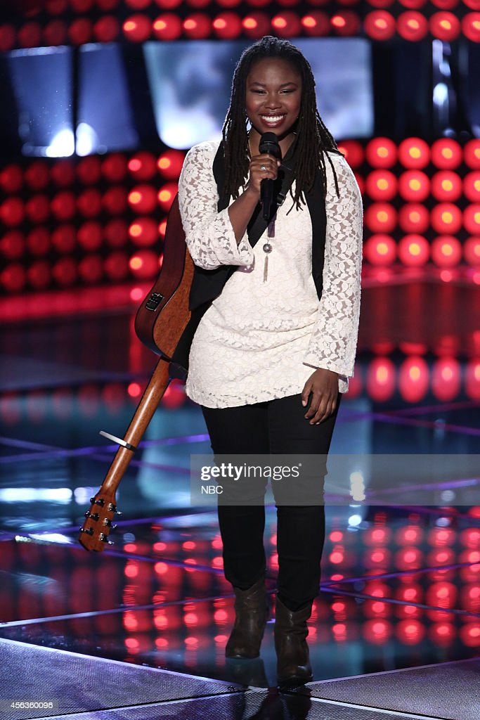 The voice blind auditions episode 703 pictured anita antoinette