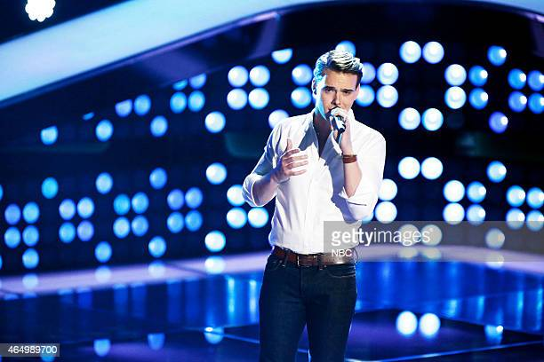 THE VOICE 'Blind Auditions' Episode 803 Pictured Clinton Washington