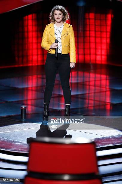 THE VOICE 'Blind Auditions' Pictured Shilo Gold