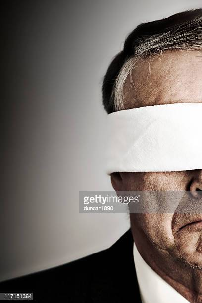 Blind Businessman