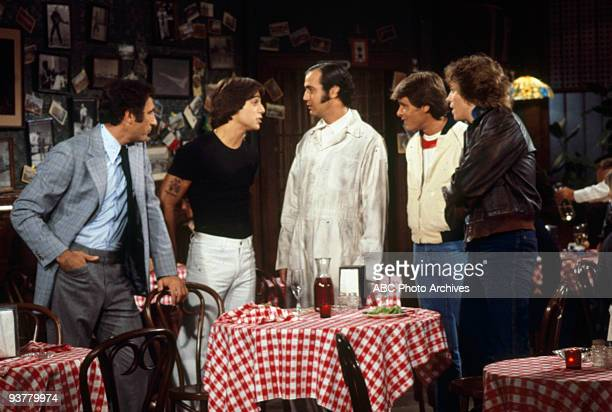 TAXI 'Blind Date' Season One 9/26/78 Judd Hirsch Tony Danza Andy Kaufman Randall Carver Jeff Conaway on the ABC Television Network comedy 'Taxi'...