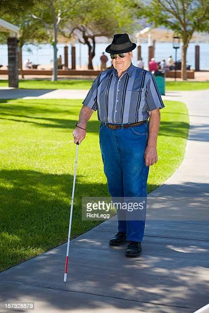 Uomo cieco e Bastone