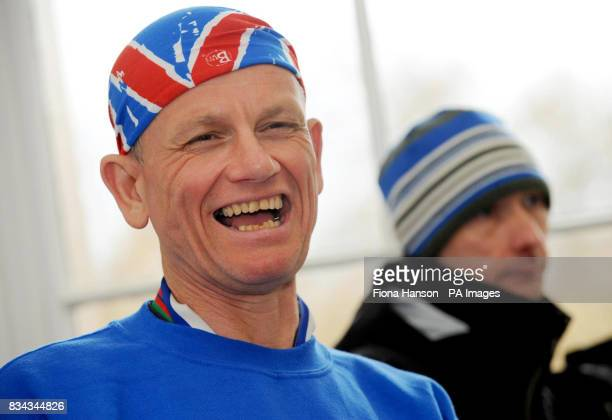 Blind runner Dave Heeley who finished his epic seven marathons in seven days across seven continents after completing the 2008 London Marathon He was...