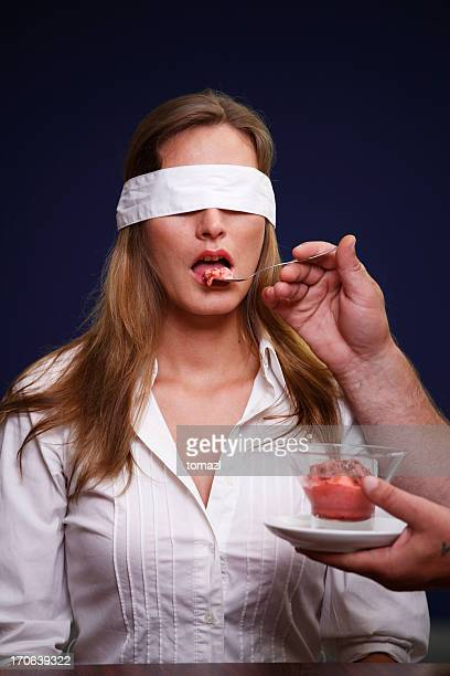 Blindfolded tasting of ice cream