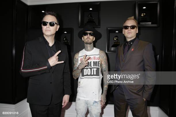 Blink182 on the Red Carpet at THE 59TH ANNUAL GRAMMY AWARDS broadcast live from the STAPLES Center in Los Angeles Sunday Feb 12 on the CBS Television...