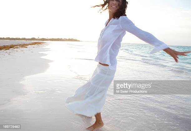 bliss woman beach